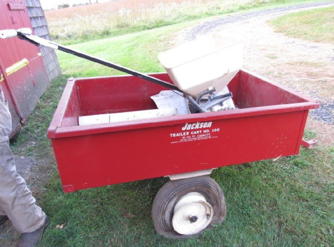 Jackson 100 10 Cubic Foot Cart