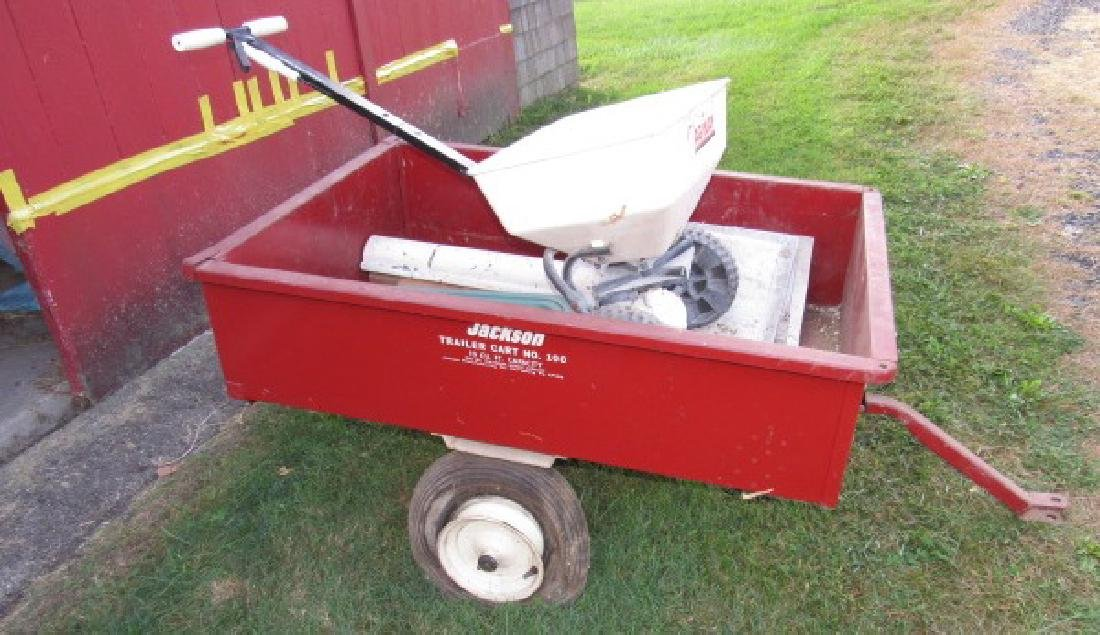 Jackson 100 10 Cubic Foot Cart - 2