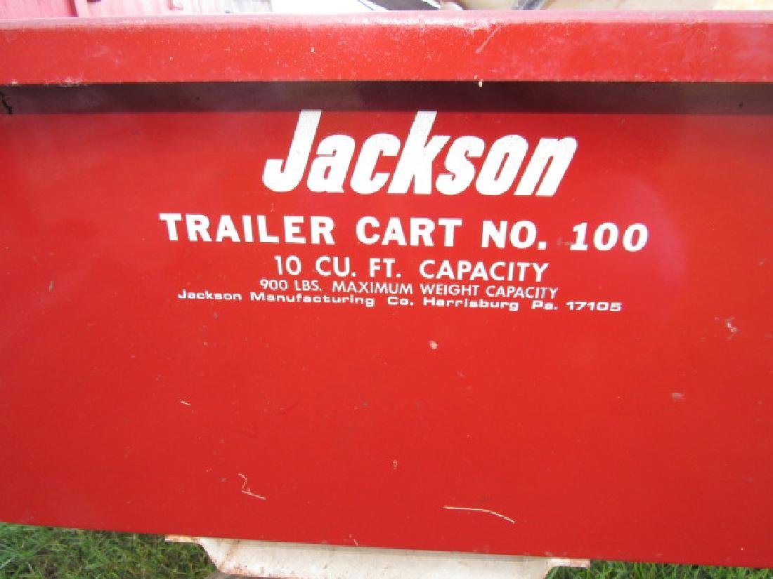 Jackson 100 10 Cubic Foot Cart - 3