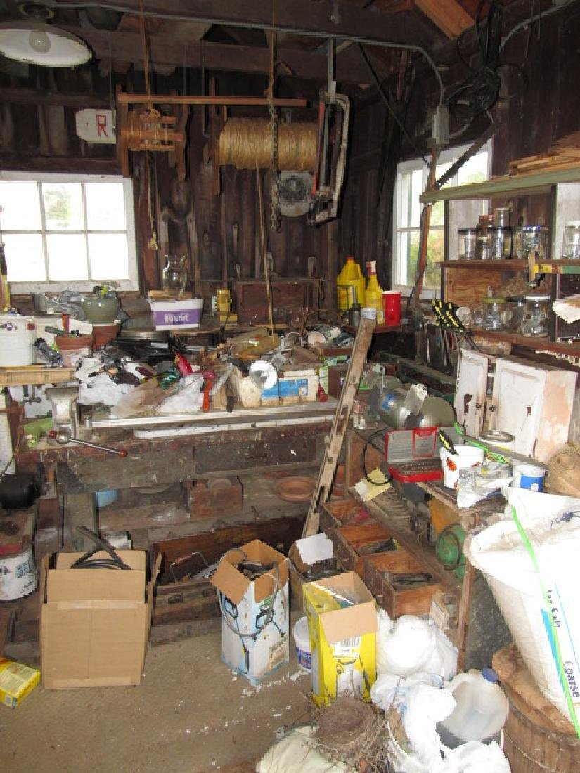 Partial Contents of Shed
