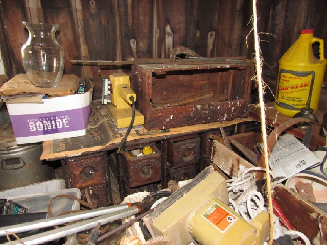 Partial Contents of Shed - 3