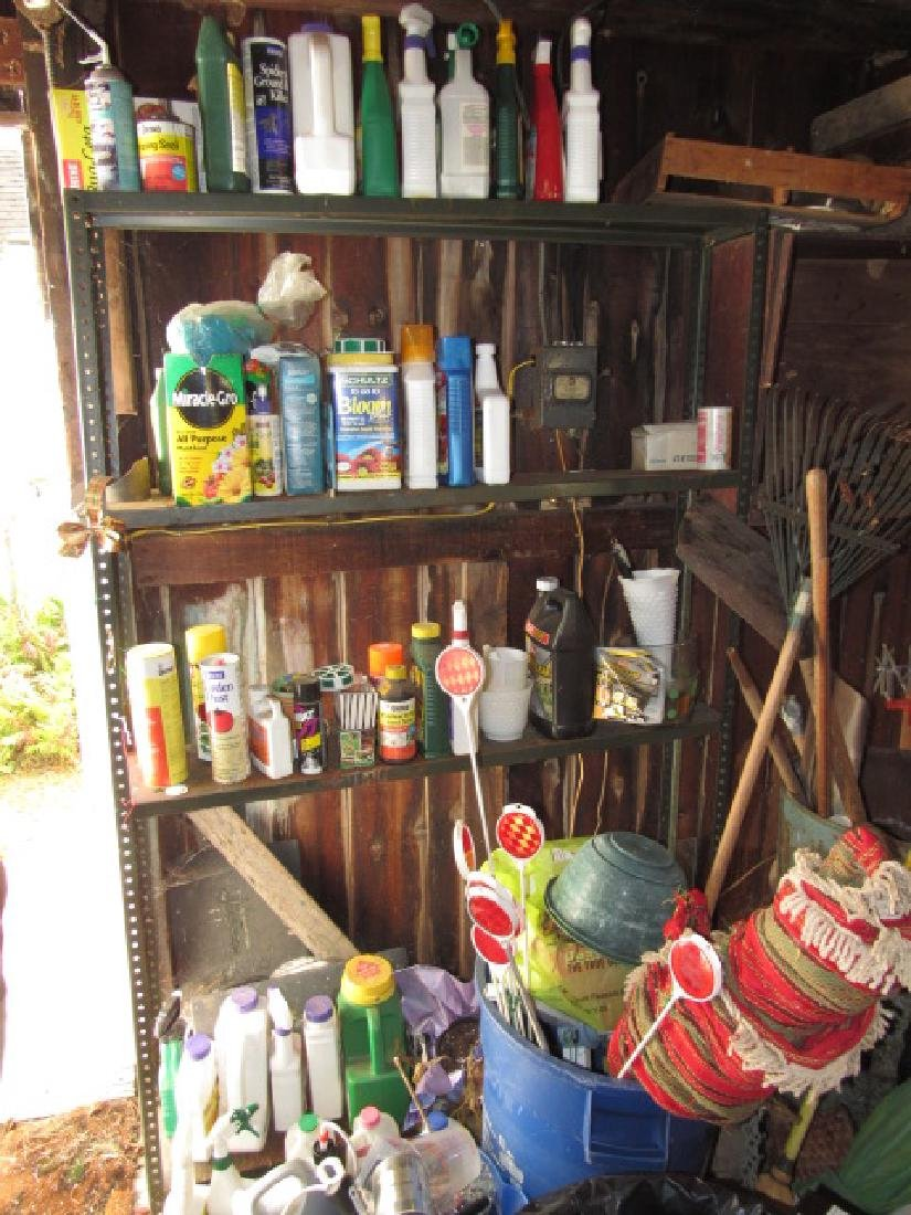 Partial Contents of Shed - 9