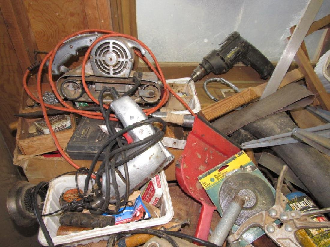Power Tool Lot Drills Recipricating Saw