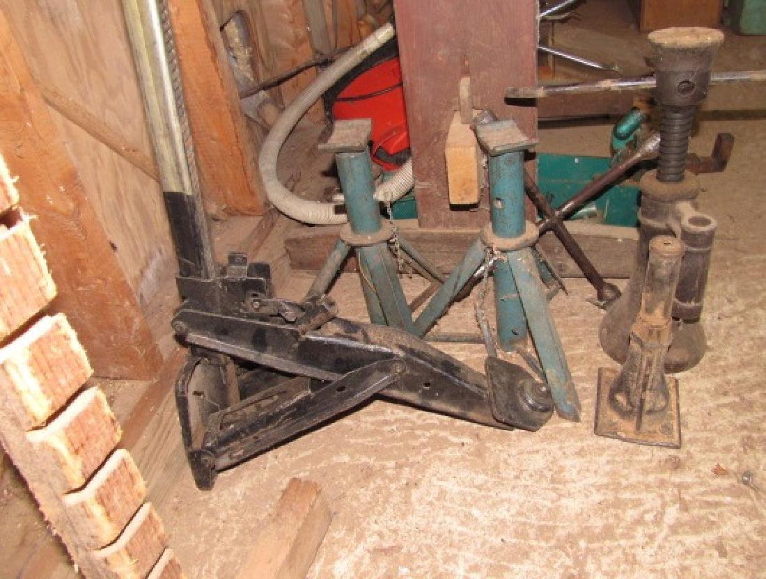3 Jacks 2 Jacks Stands & Lug Wrench