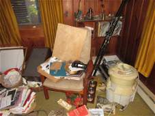 Contents of Left Side of Living Room