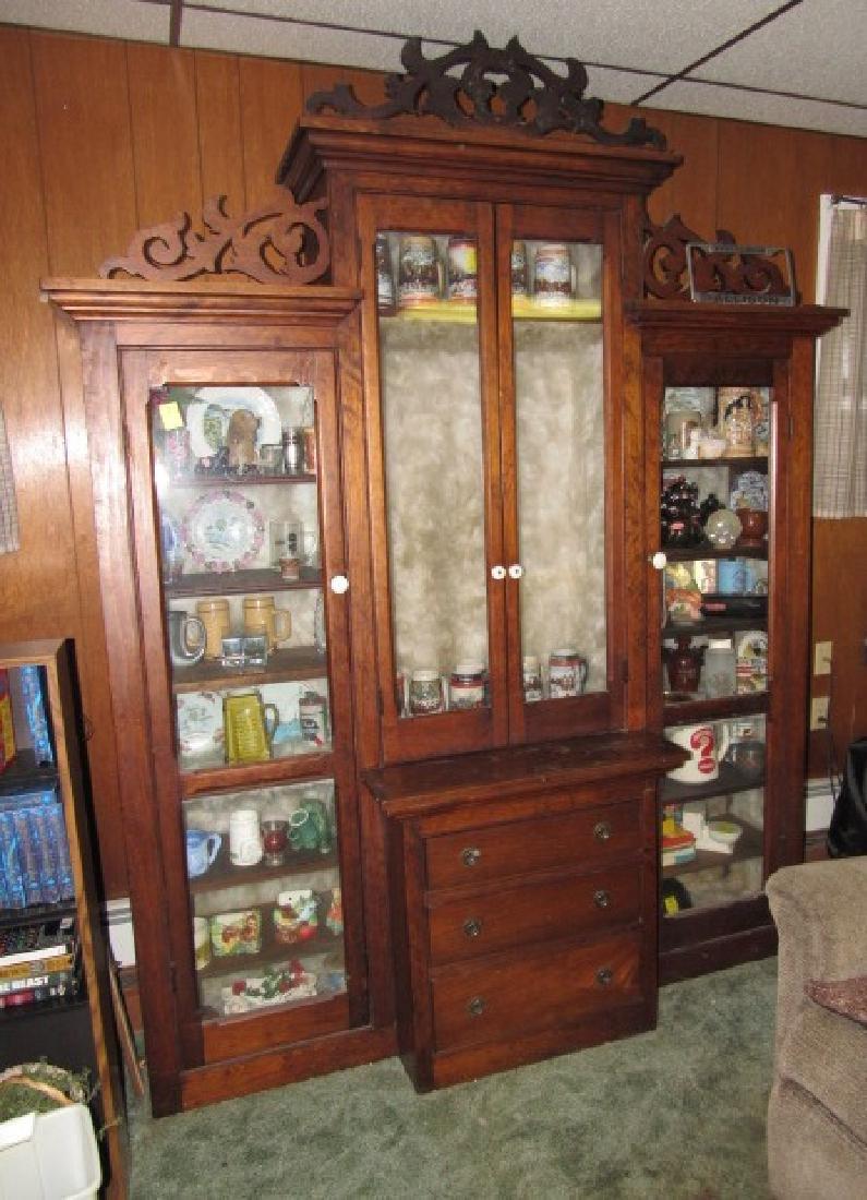Stepdown Mixed Wood Bookcase