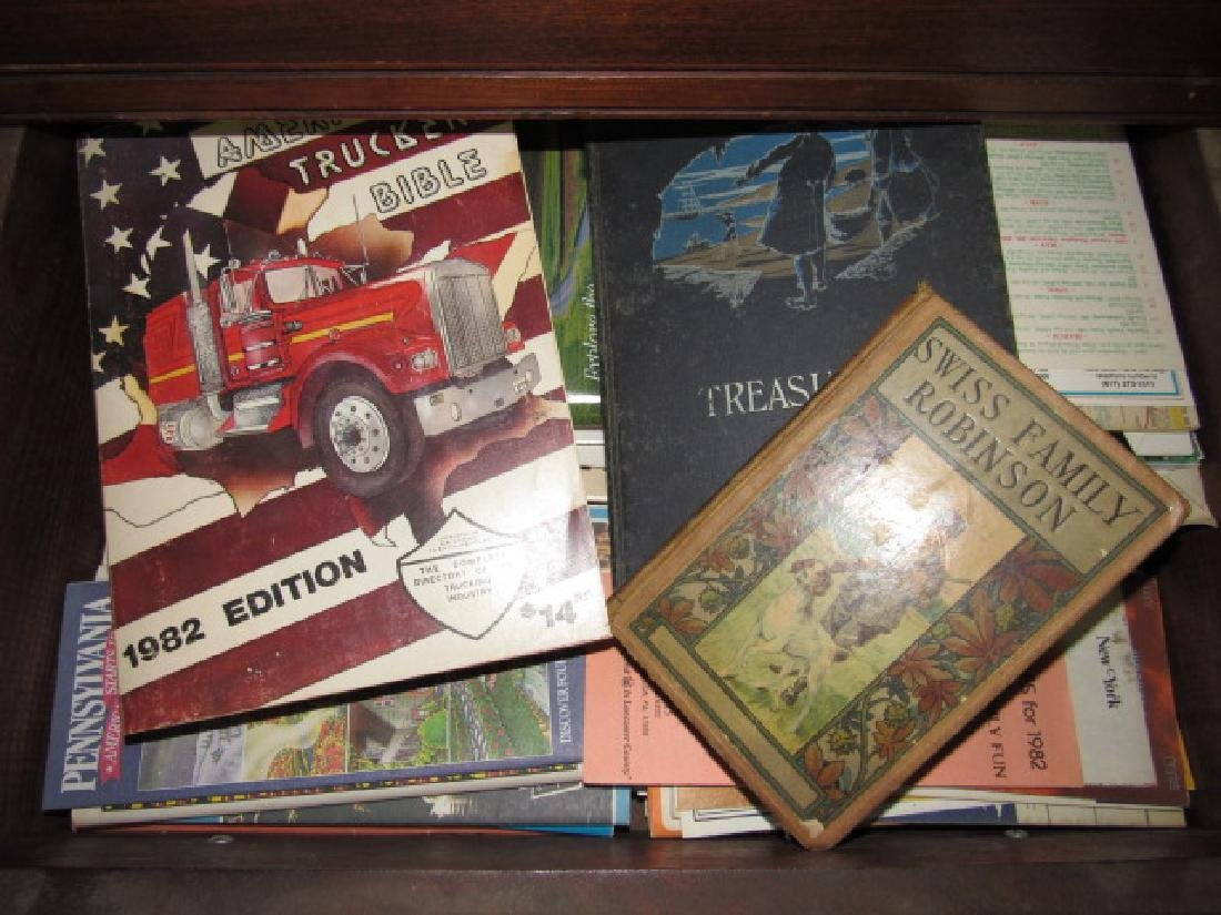 Swiss Robinson Book Truckers Bible