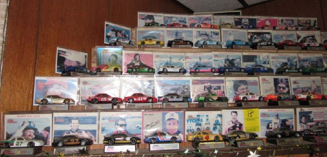 58 Vintage Nascar Racing Diecast Cars