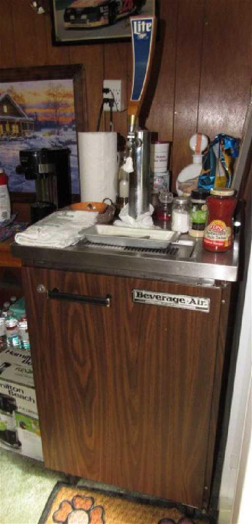beverage air kegerator beer keg fridge - Beverage Air Kegerator