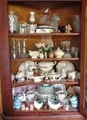 Contents of Corner Cupboard