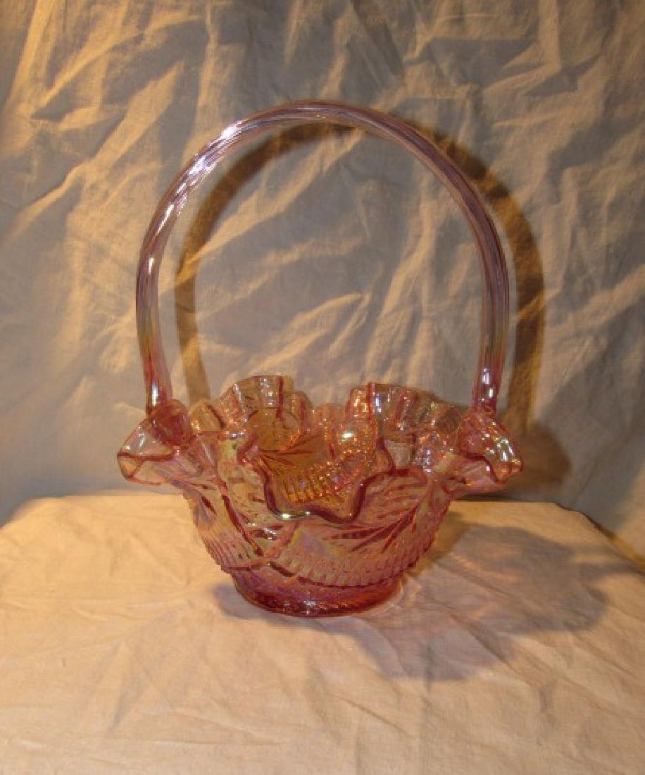 Fenton Art Glass Basket
