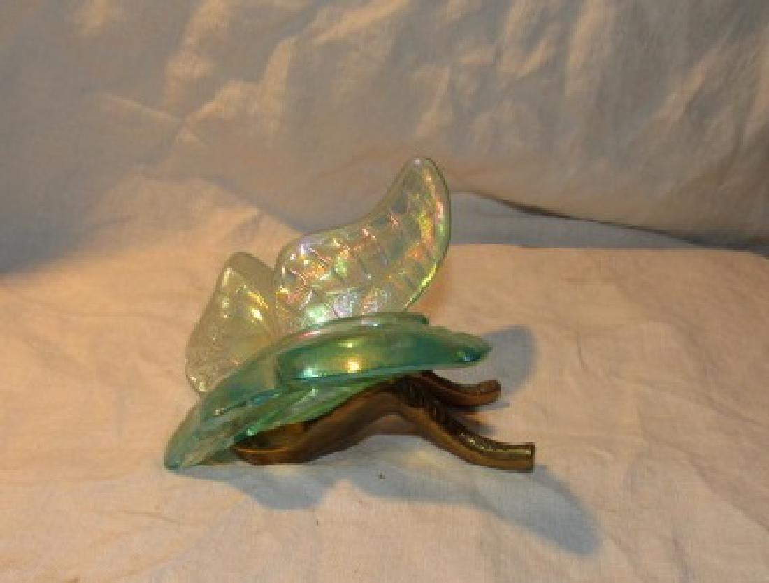 Fenton Art Glass Butterfly