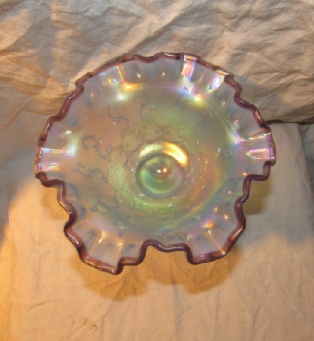 Fenton Art Glass Compote - 2