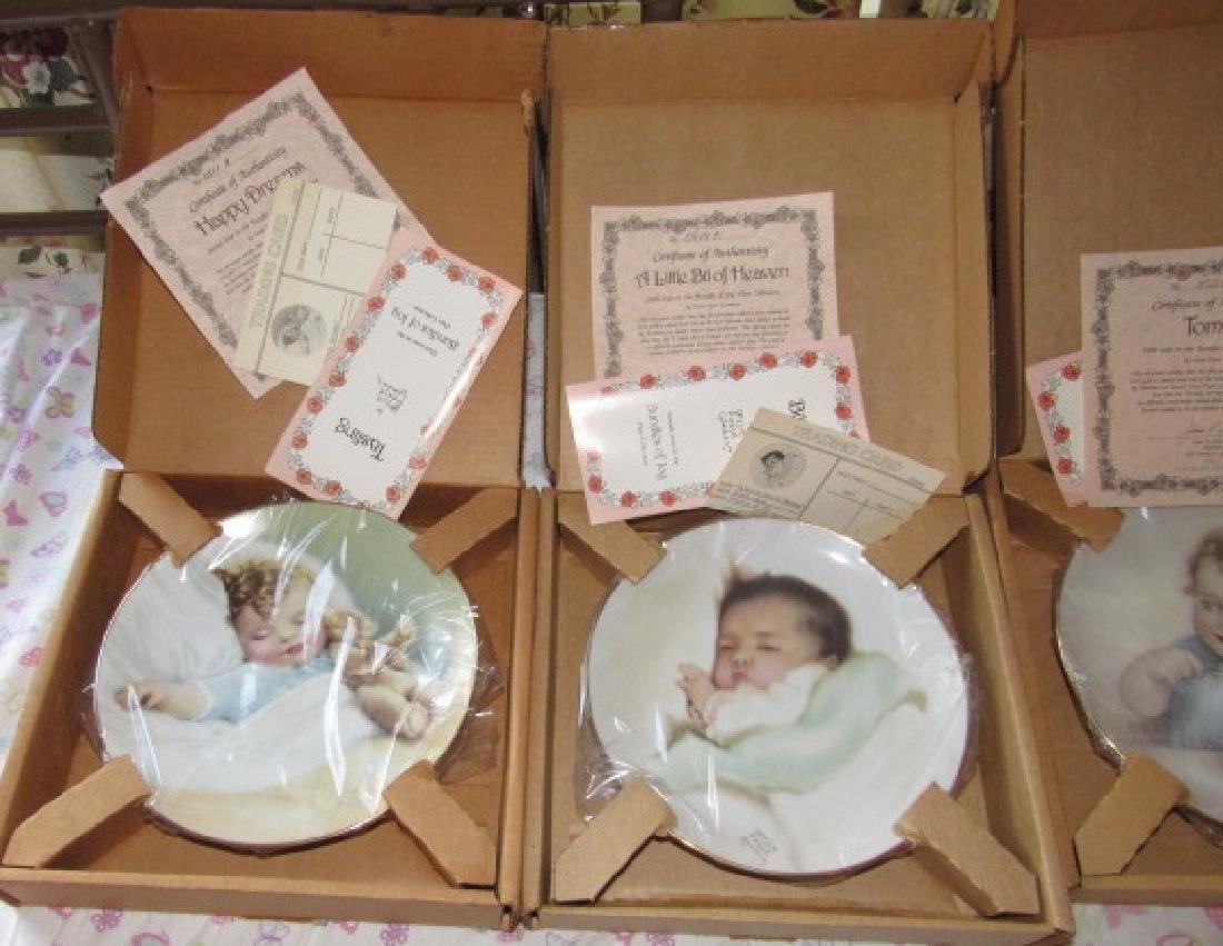 8 Bessie Pease Gutmann Collector Plates