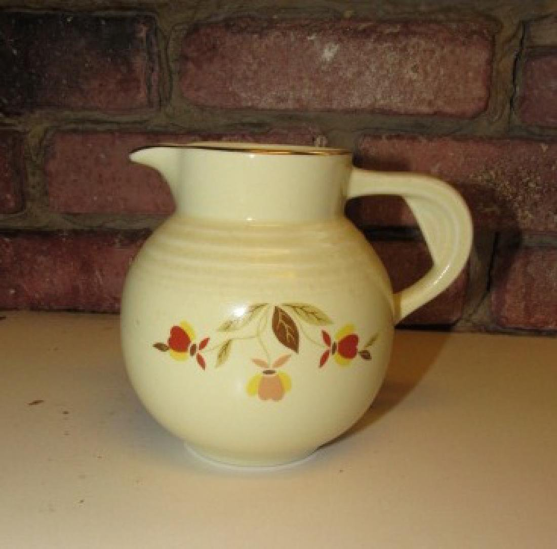 1994 Hall Autumn Leaf Syrup Pitcher