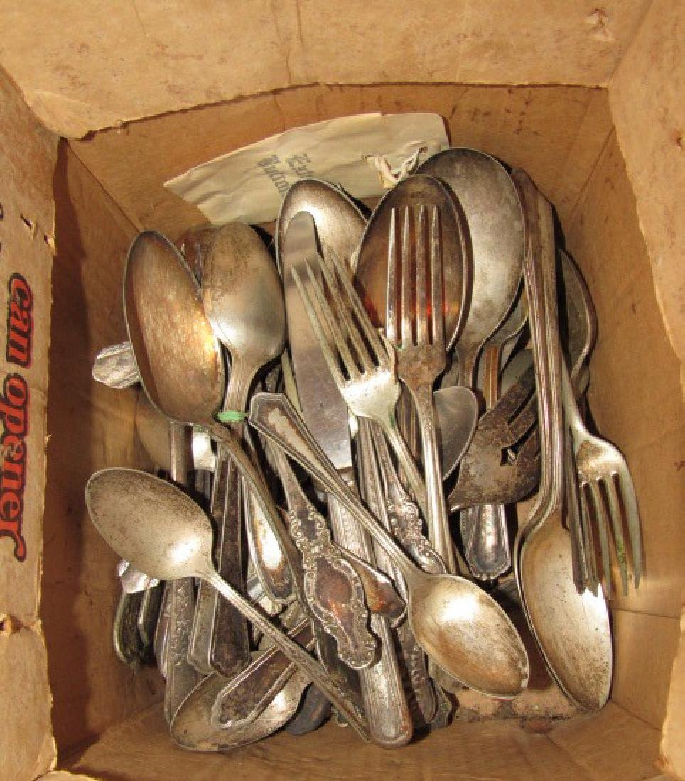 Mixed Lot of Silver Plate