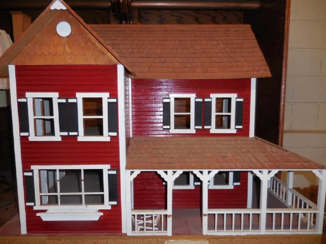 Wood Doll House