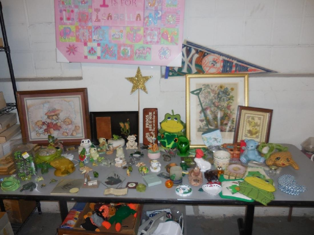 Table Contents Frog Lot