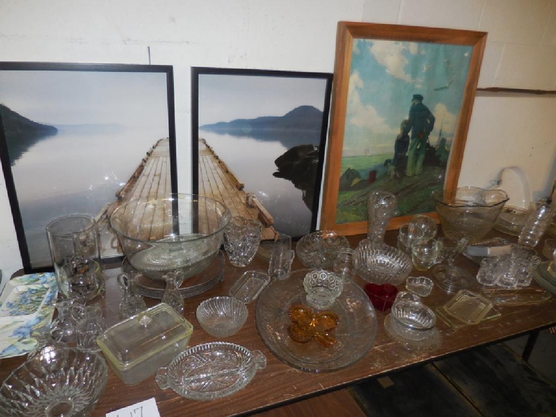 Table Contents Glassware