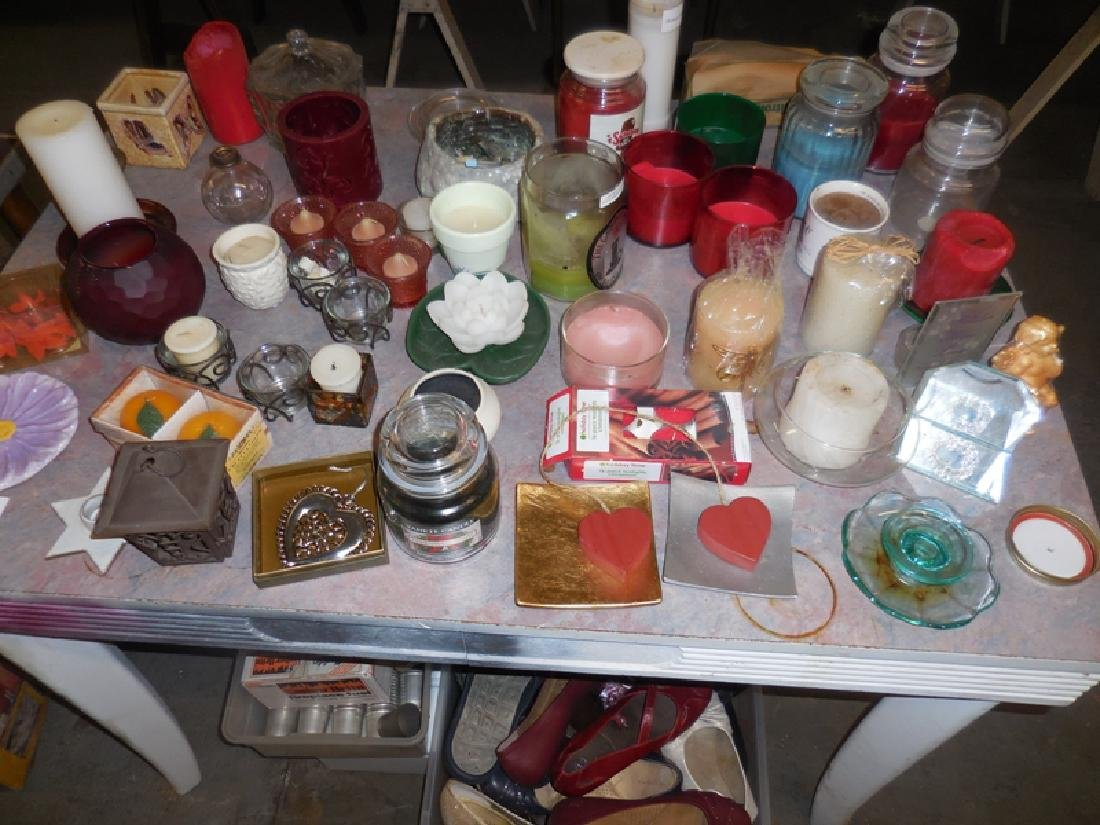 Table Contents Candle Lot