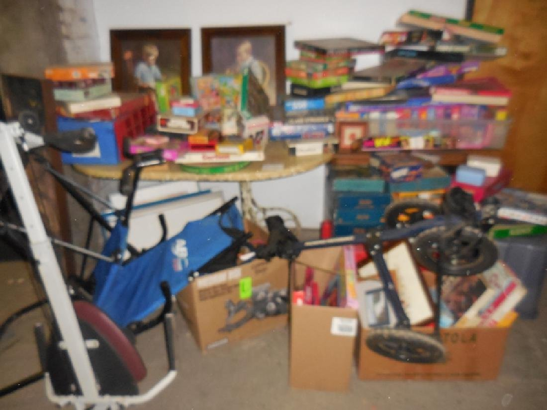 Misc. Puzzle & Exercise Lot
