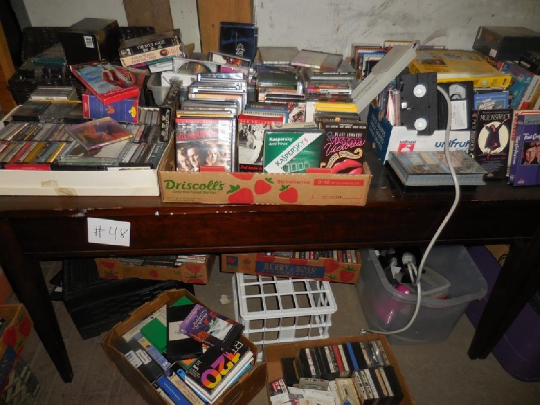 DVD, Cassette, VHS Lot