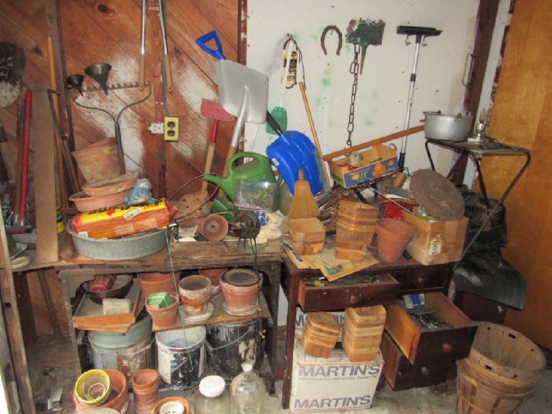 Partial Garage Contents