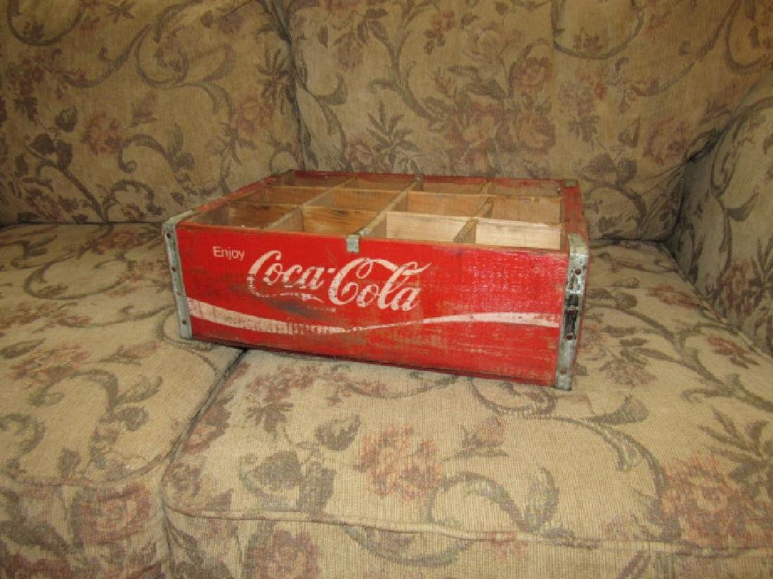 Wood Coke Crate