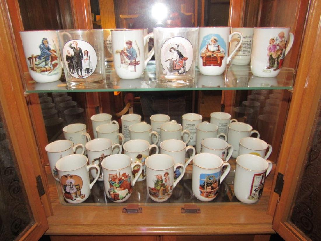 Norman Rockwell Cups & Glasses