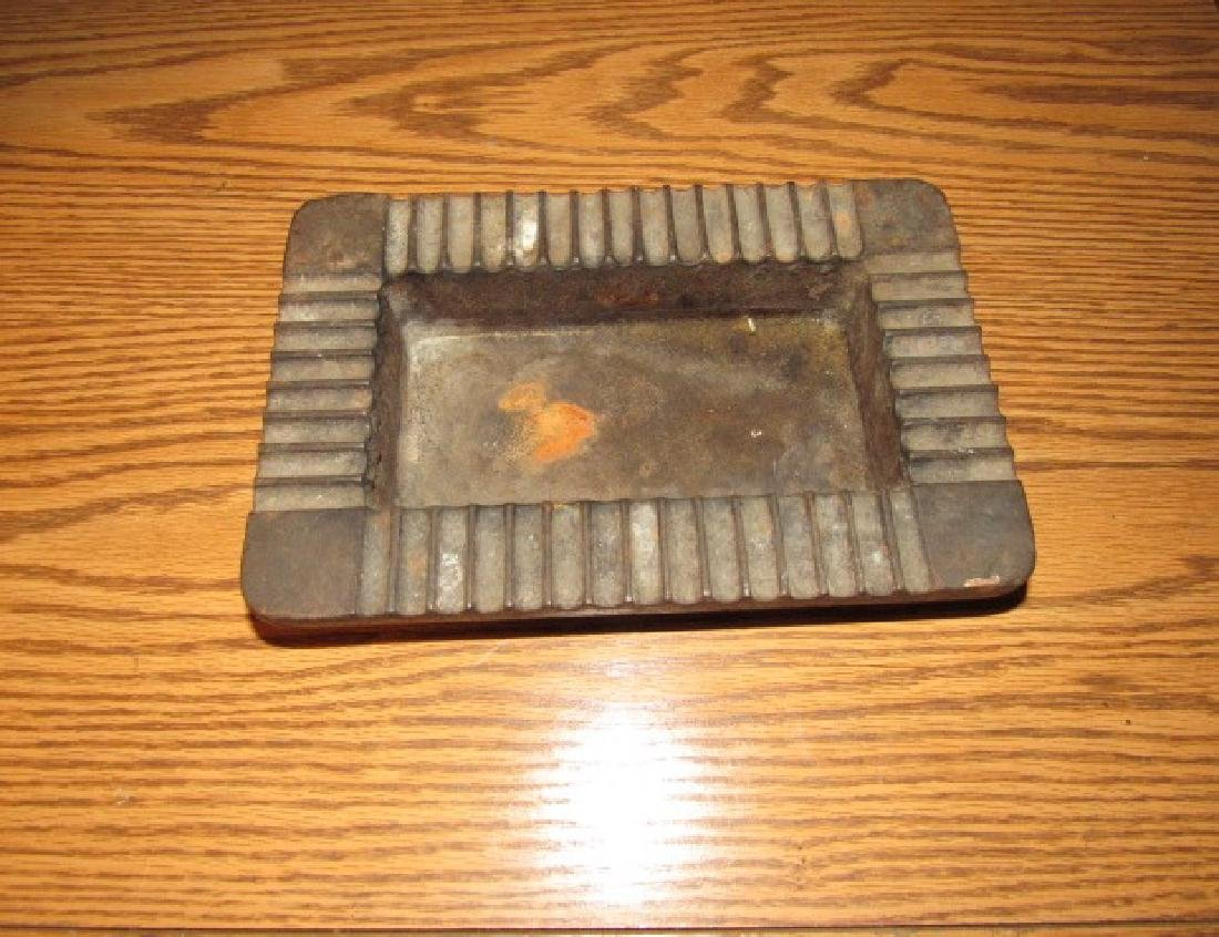 Antique Cast Iron Ash Tray