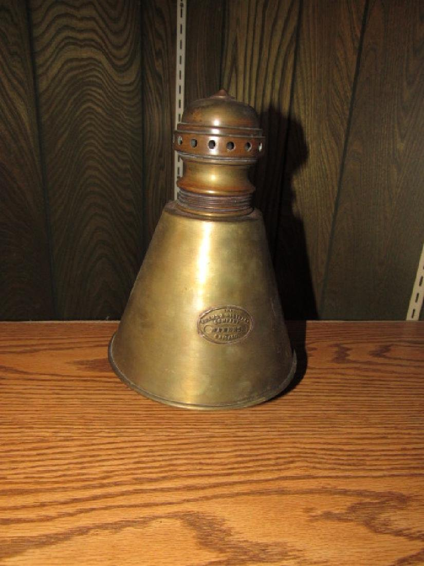 Adams & Westlake Brass Lantern Top