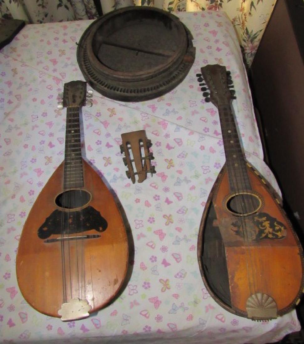 Weyman Mandolins & Banjo Parts or Repair