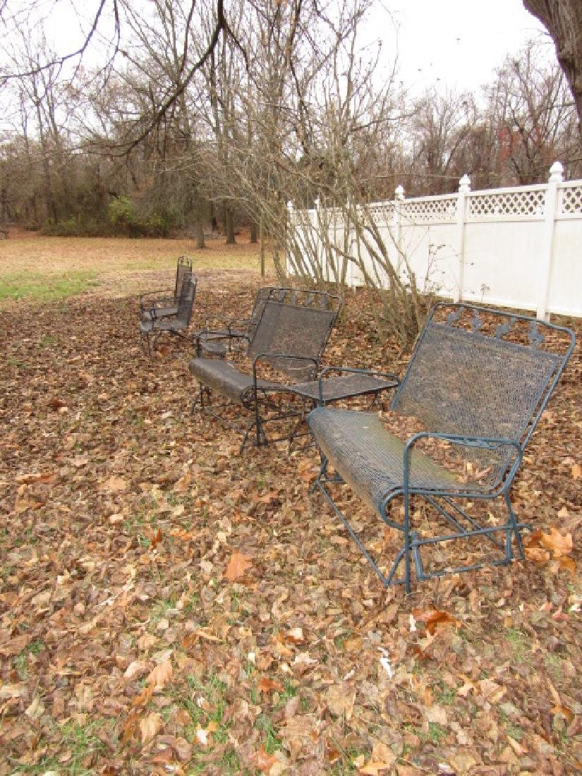 Metal Patio Gliders Chairs & Tables