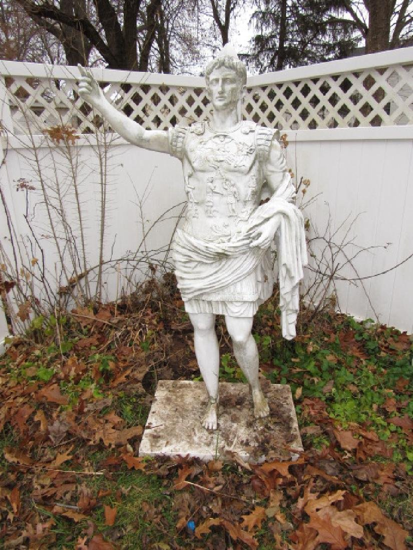 Large Resin Roman Statue
