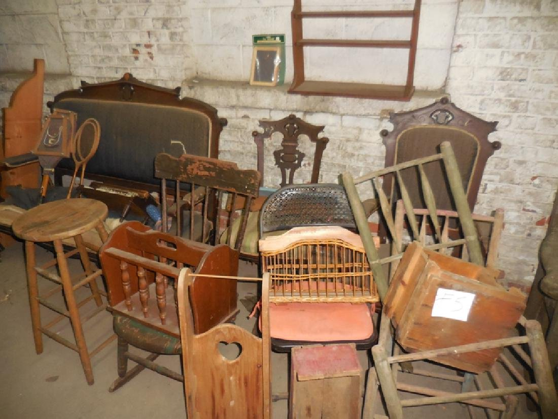 Antique Furniture Lot