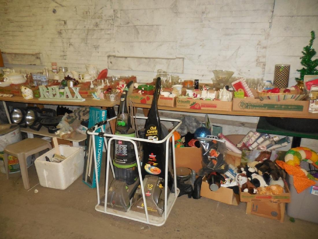 Dishware, Figurines Lot