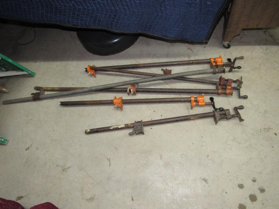 6 Bar Clamps