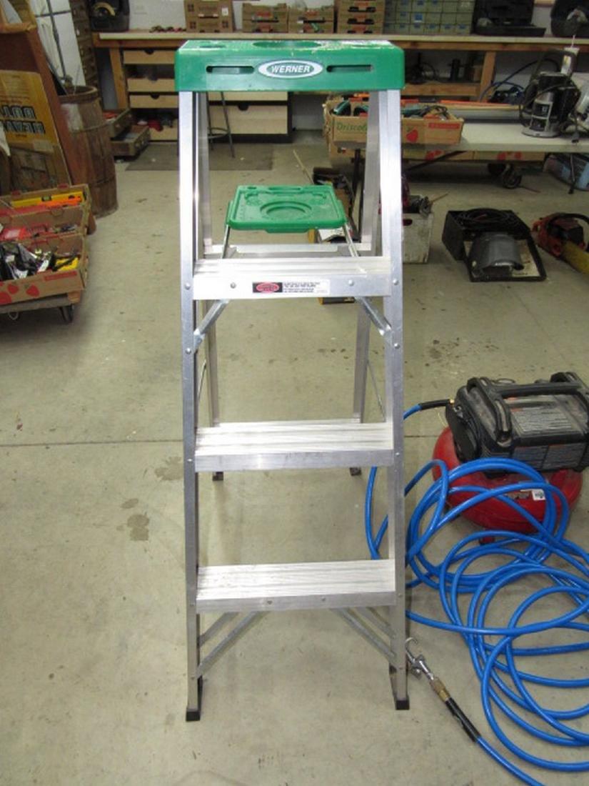Werner 4' Aluminum Step Ladder Model # 354