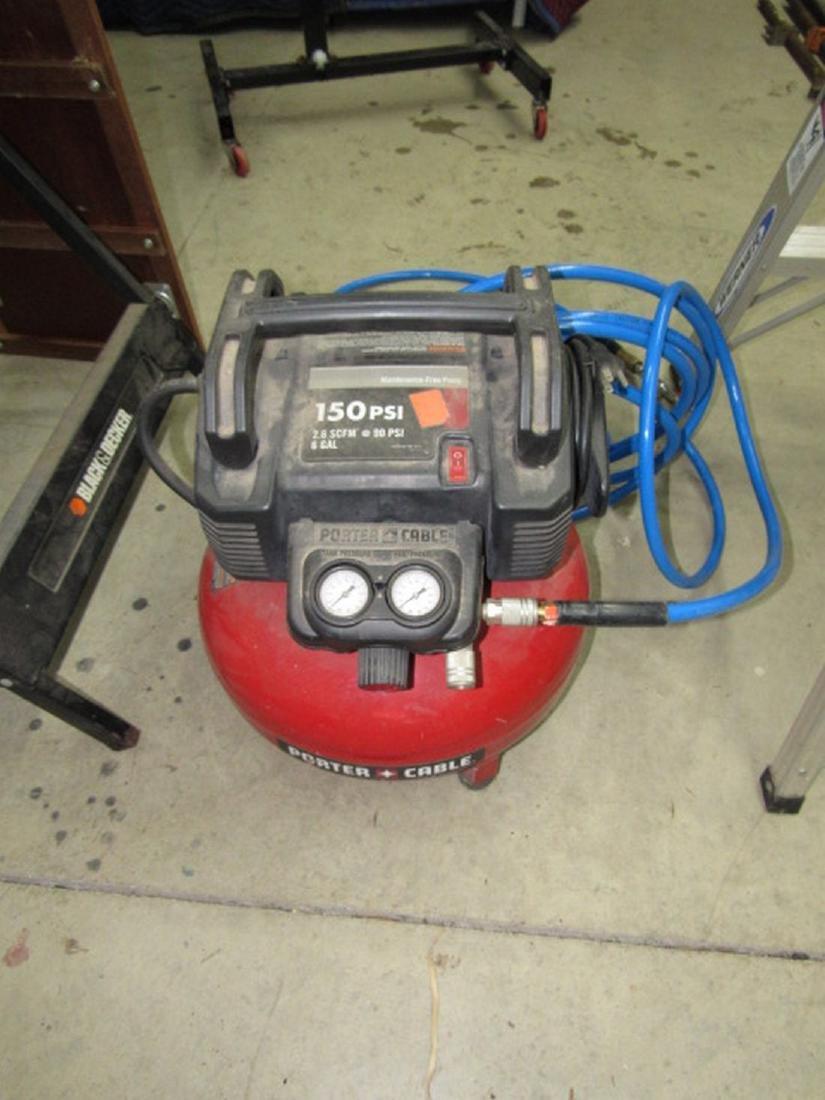 Porter Cable 150 PSI 6 Gallon Air Compressor