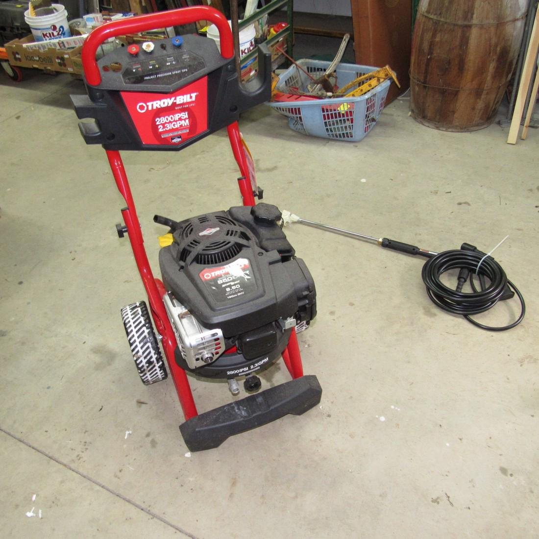 Troy Bilt 2800 PSI Pressure Washer