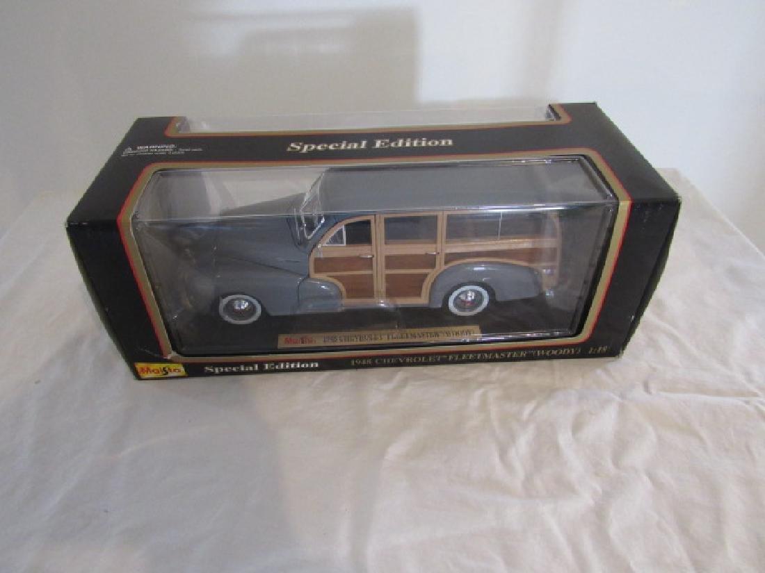 Maisto 1943 Chevrolet Fleetmaster Woody Toy