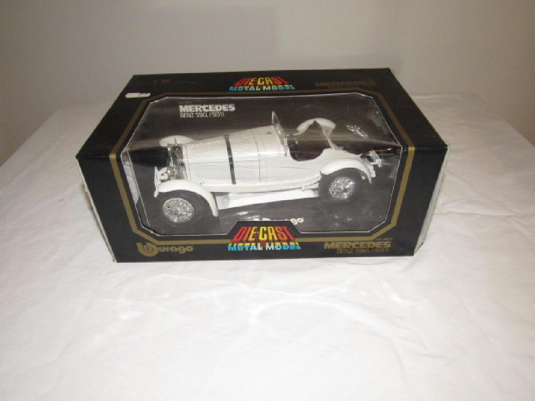 Durago 1931 Mercedes Benz SSKL Die Cast Toy