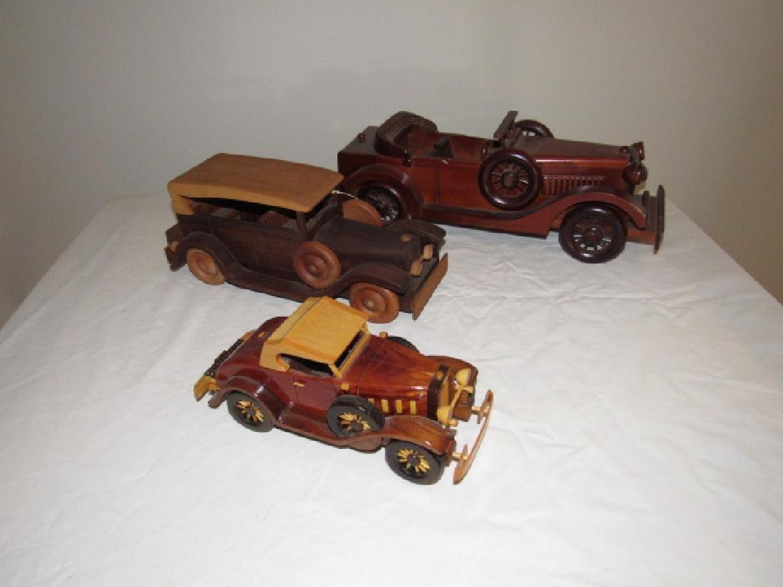 3 Wooden Toy Cars 1 Robert Boop