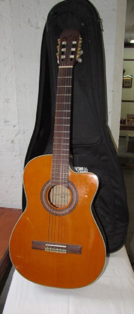 Carlo Robello Acoustic Guitar w/ case