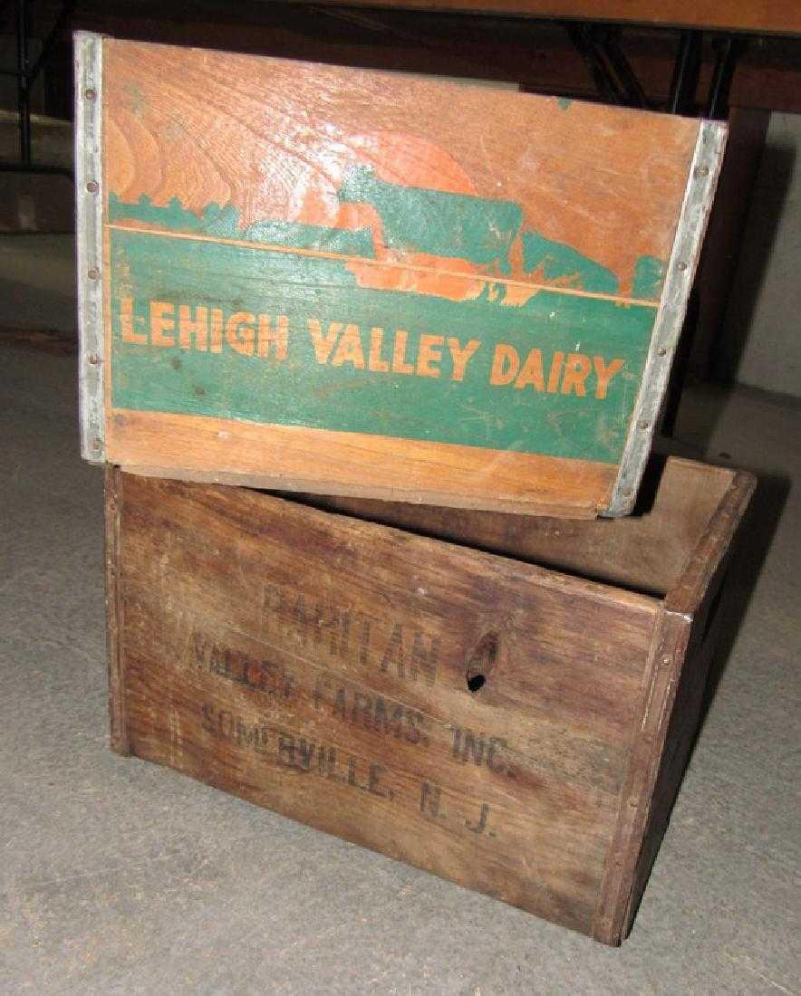 Lehigh Valley Dairy & Raritan Farms Crates