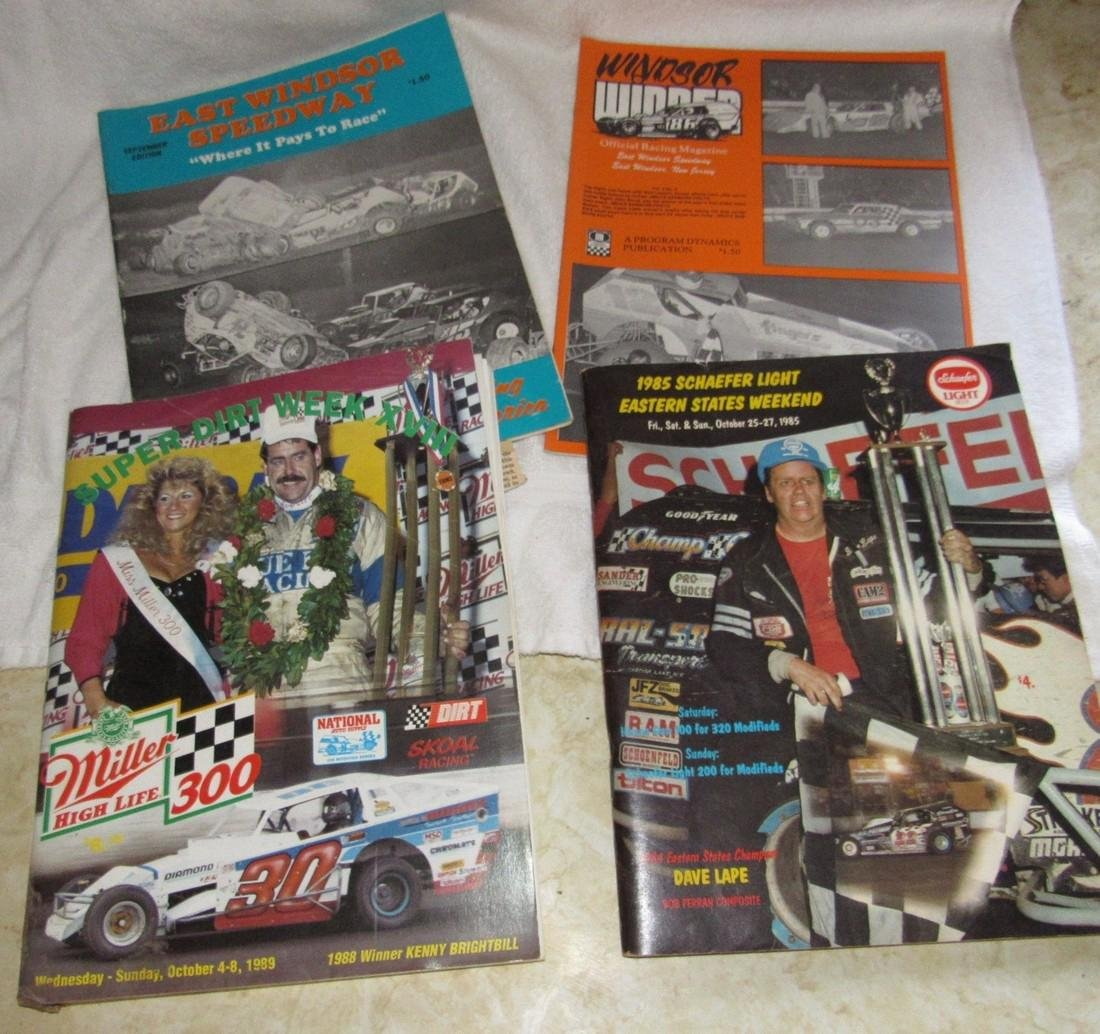 Dirt Track Racing Programs Magazines Nascar