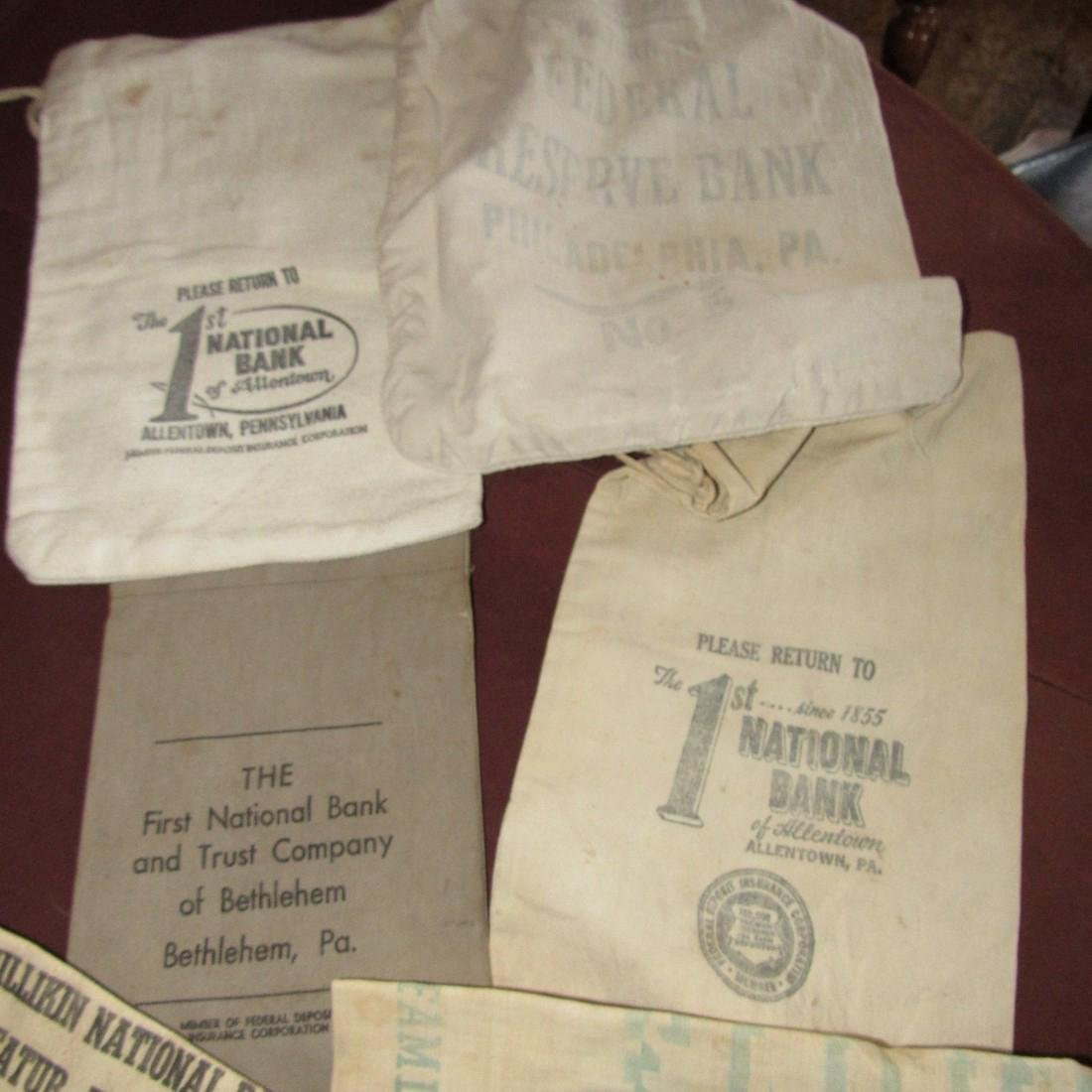 Bank Biscuit Bags & Work Aprons
