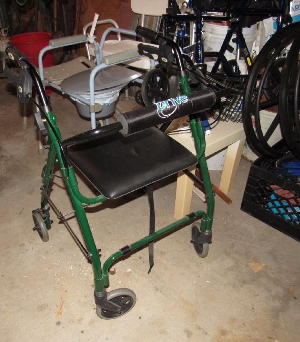 Transport Chair Walkers Handicap Lot - 2