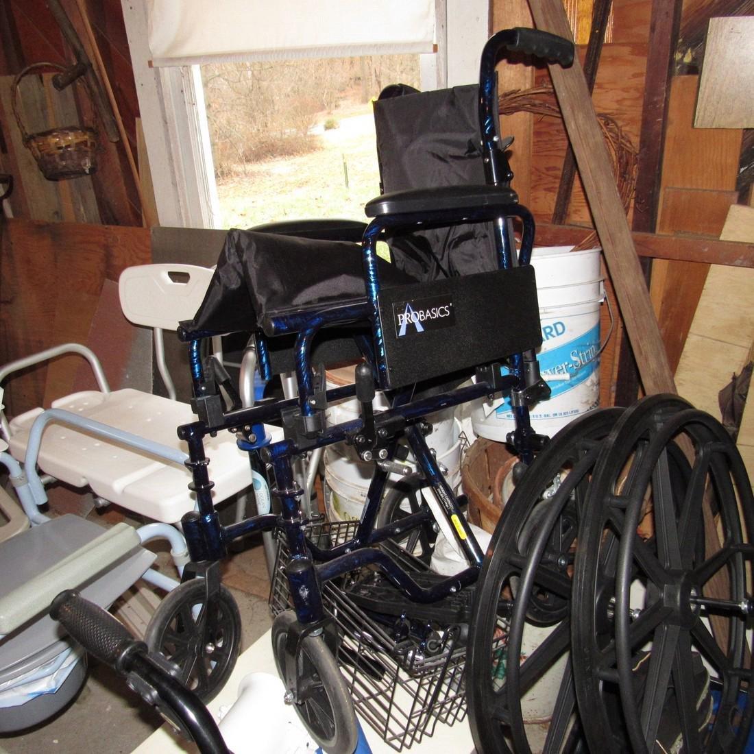 Transport Chair Walkers Handicap Lot - 3