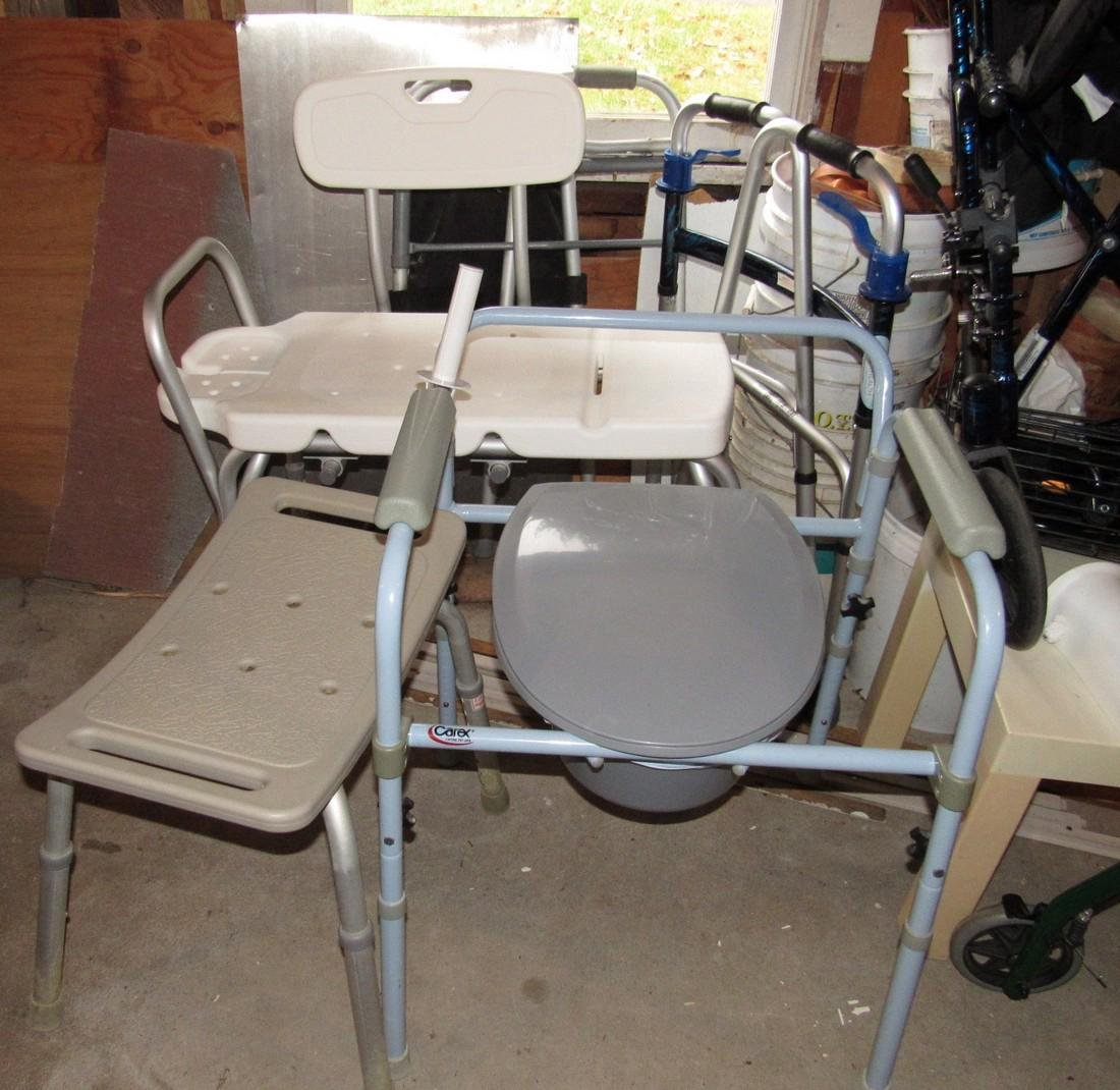 Transport Chair Walkers Handicap Lot - 4